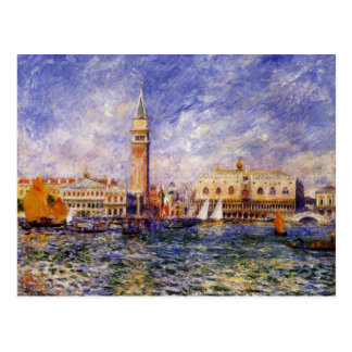 The Doges' Palace by Renoir Postcard