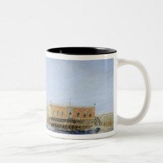 The Doge's Palace from Santa Maria della Two-Tone Coffee Mug