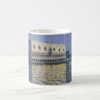 The Doges Palace (Le Palais Ducal) by Claude Monet Coffee Mug