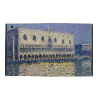 The Doges Palace (Le Palais Ducal) by Claude Monet iPad Case