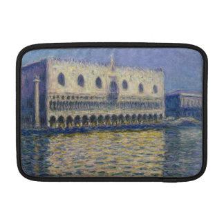 The Doges Palace (Le Palais Ducal) by Claude Monet MacBook Air Sleeve