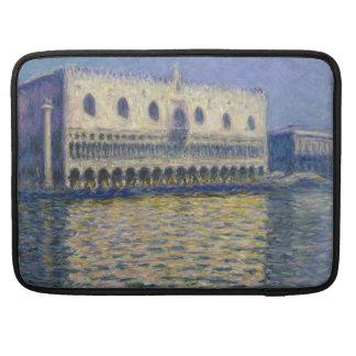 The Doges Palace (Le Palais Ducal) by Claude Monet MacBook Pro Sleeve
