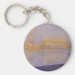 The Doges' Palace Seen from San Giorgio Maggiore 2 Keychain