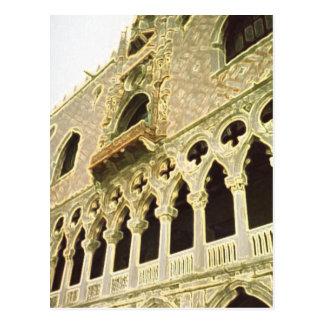 The Doge's Palace Venice Postcard