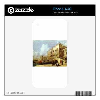 The Doge's Palace, Venice Richard Parkes Bonington Decals For iPhone 4S