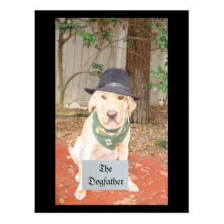 The Dogfather Postcard