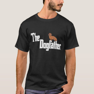 The Dogfather - Smooth Dachshund T-Shirt