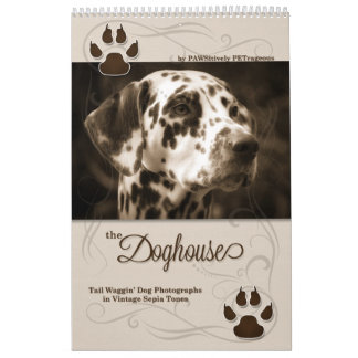 the Doghouse Dog Lover's Custom Calendar