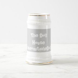 """""""The Doll House"""" beer stein"""