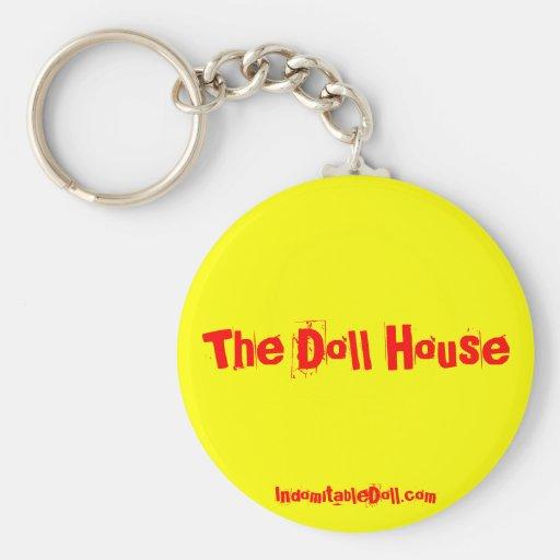"""The Doll House"" keychain"