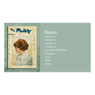 The Dollar Princess Business Card Template