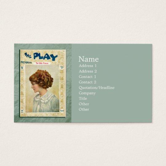 The Dollar Princess Business Card