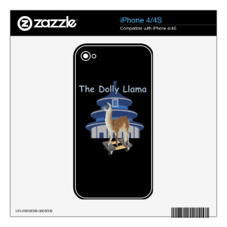 The Dolly Llama iPhone 4 Decal
