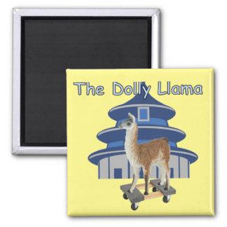 The Dolly Llama Magnet