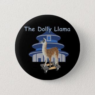 The Dolly Llama Pinback Button