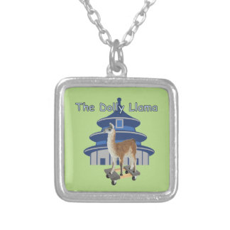 The Dolly Llama Silver Plated Necklace