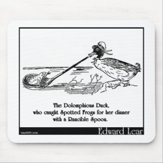 The Dolomphious Duck Mouse Pad