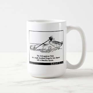 The Dolomphious Duck Classic White Coffee Mug