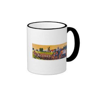 The Dolores Automobile Ringer Coffee Mug