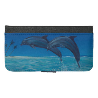 The dolphin case where two jump