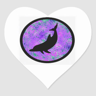 THE DOLPHIN EXPLORER HEART STICKERS