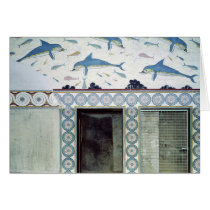 The Dolphin Frescoes in the Queen's Bathroom