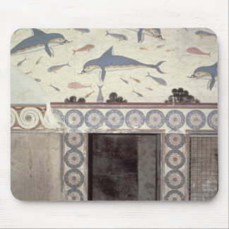 The Dolphin Frescoes in the Queen's Bathroom Mouse Pad