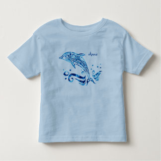 The Dolphin is My Friend Blue Sea Water Marine Joy Toddler T-shirt