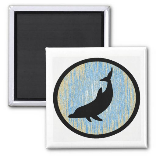 THE DOLPHIN STAGE FRIDGE MAGNET