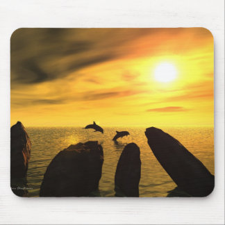 The Dolphin Stones Mouse Mat
