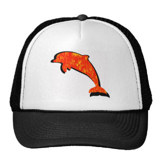 THE DOLPHIN SUNSET MESH HAT