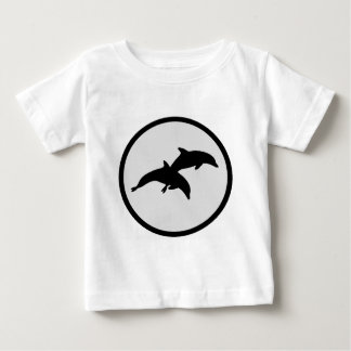 The Dolphins Fog Baby T-Shirt
