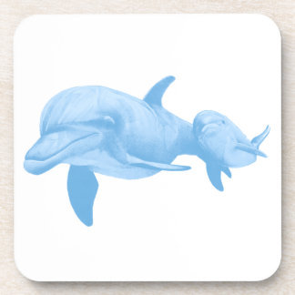 THE DOLPHINS JOY DRINK COASTER