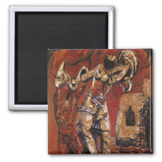 The Domain of Love, 1929 2 Inch Square Magnet