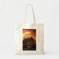 THE DOME CITY SCI-FI BOOK PRODUCTS FROM THE BOOK TOTE BAG