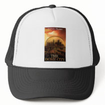 THE DOME CITY SCI-FI BOOK PRODUCTS FROM THE BOOK TRUCKER HAT
