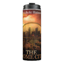 THE DOME CITY SCI-FI BOOK PRODUCTS THERMAL TUMBLER