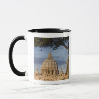 the dome of Saint Peter's Basilica, Vatican, Mug