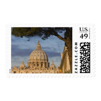 the dome of Saint Peter's Basilica, Vatican, Postage Stamp