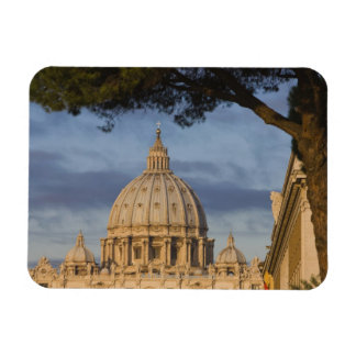 the dome of Saint Peter's Basilica, Vatican, Rectangle Magnets