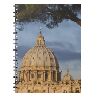 the dome of Saint Peter's Basilica, Vatican, Spiral Notebook