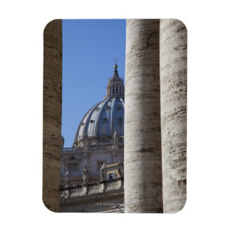 The dome of Saint Peters Bassilica, Bassilica Rectangular Magnets