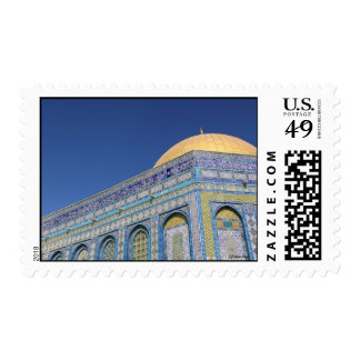 The Dome of the Rock at Sunrise, Jerusalem Postage Stamp
