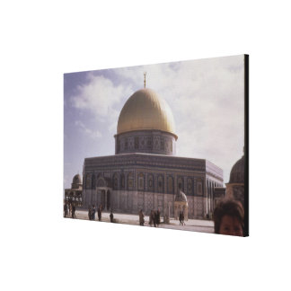 The Dome of the Rock, built AD 692 Canvas Print