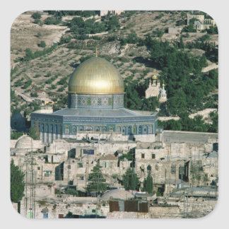 The Dome of the Rock, built AD 692 Square Sticker