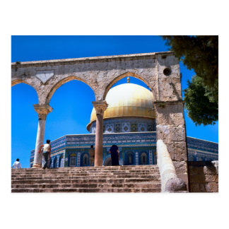 The Dome of the Rock, Jerusalem Postcard