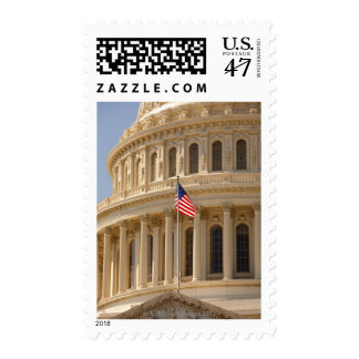 the dome of the United States Capitol Building Postage