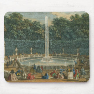 The Domes in the Garden at Versailles, pub. by Lau Mouse Pad