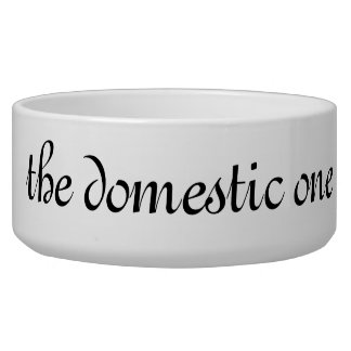 the domestic one bowl