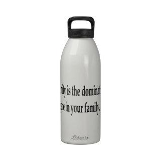The Dominant Gene Reusable Water Bottle
